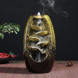 ceramic backflow incense holder waterfall incense burner