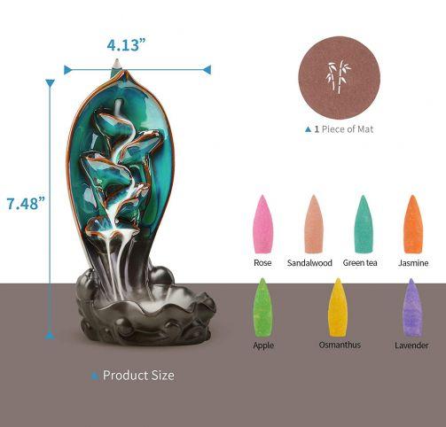 backflow incense burner wholesale
